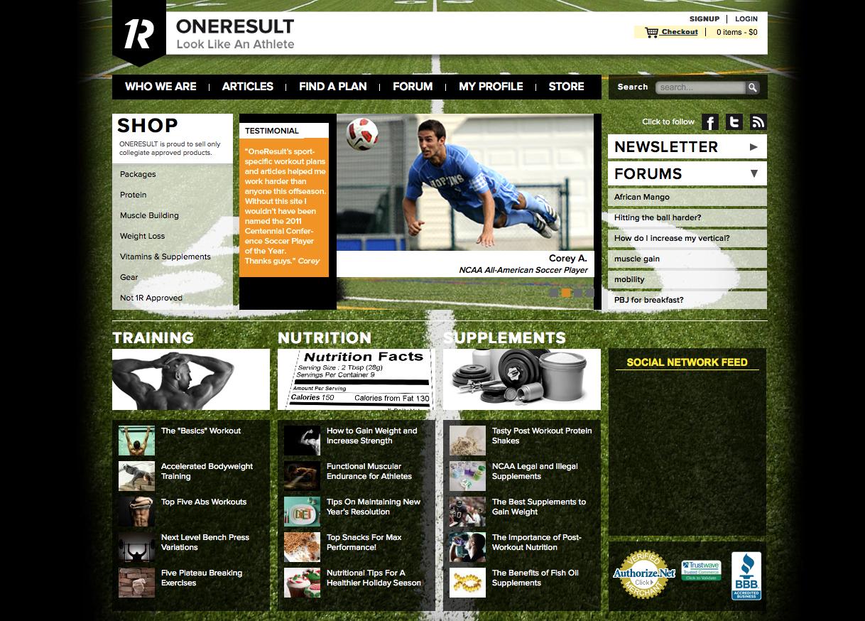 OneResult.com