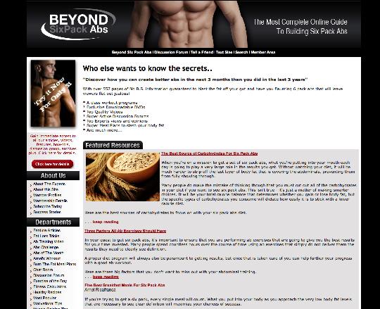 BeyondSixPackAbs.com