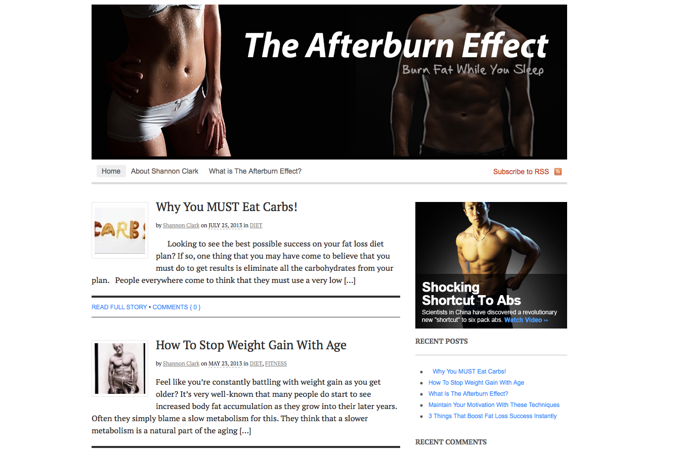 TheAfterBurnEffect.com